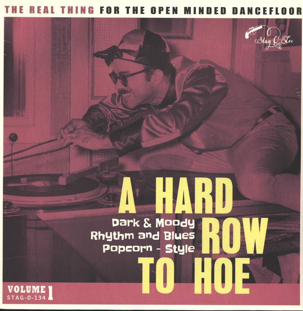 Various: A Hard Row To Hoe Vol. 1 - Dark & Moody Rhytm And Blues Popcorn - Style, LP (Vinyl)
