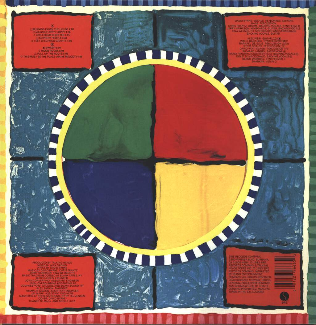 Talking Heads: Speaking In Tongues, LP (Vinyl)