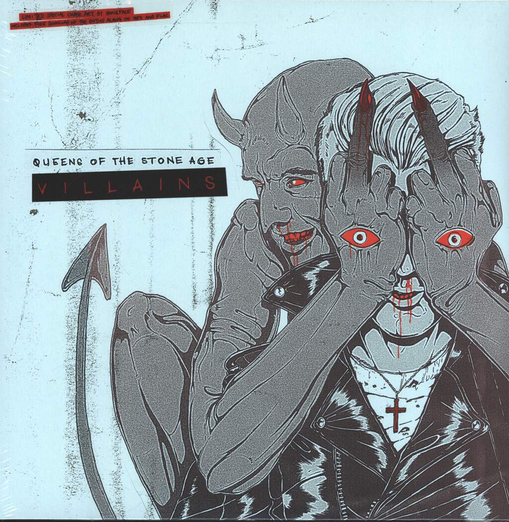 Queens Of the Stone Age: Villains, 2×LP (Vinyl)
