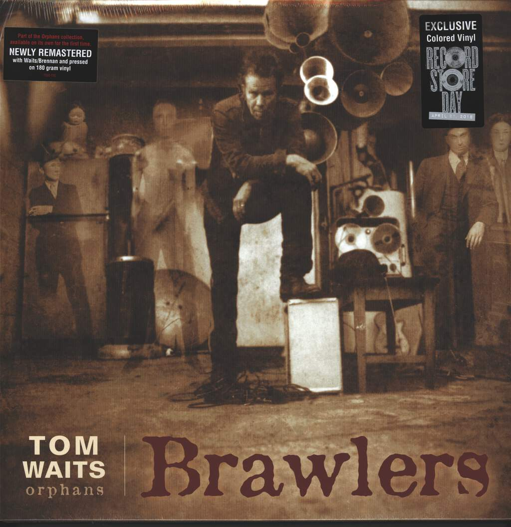 Tom Waits: Brawlers, 2×LP (Vinyl)