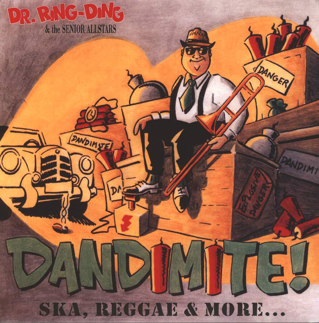 Dr. Ring-Ding & The Senior Allstars: Dandimite!, LP (Vinyl)