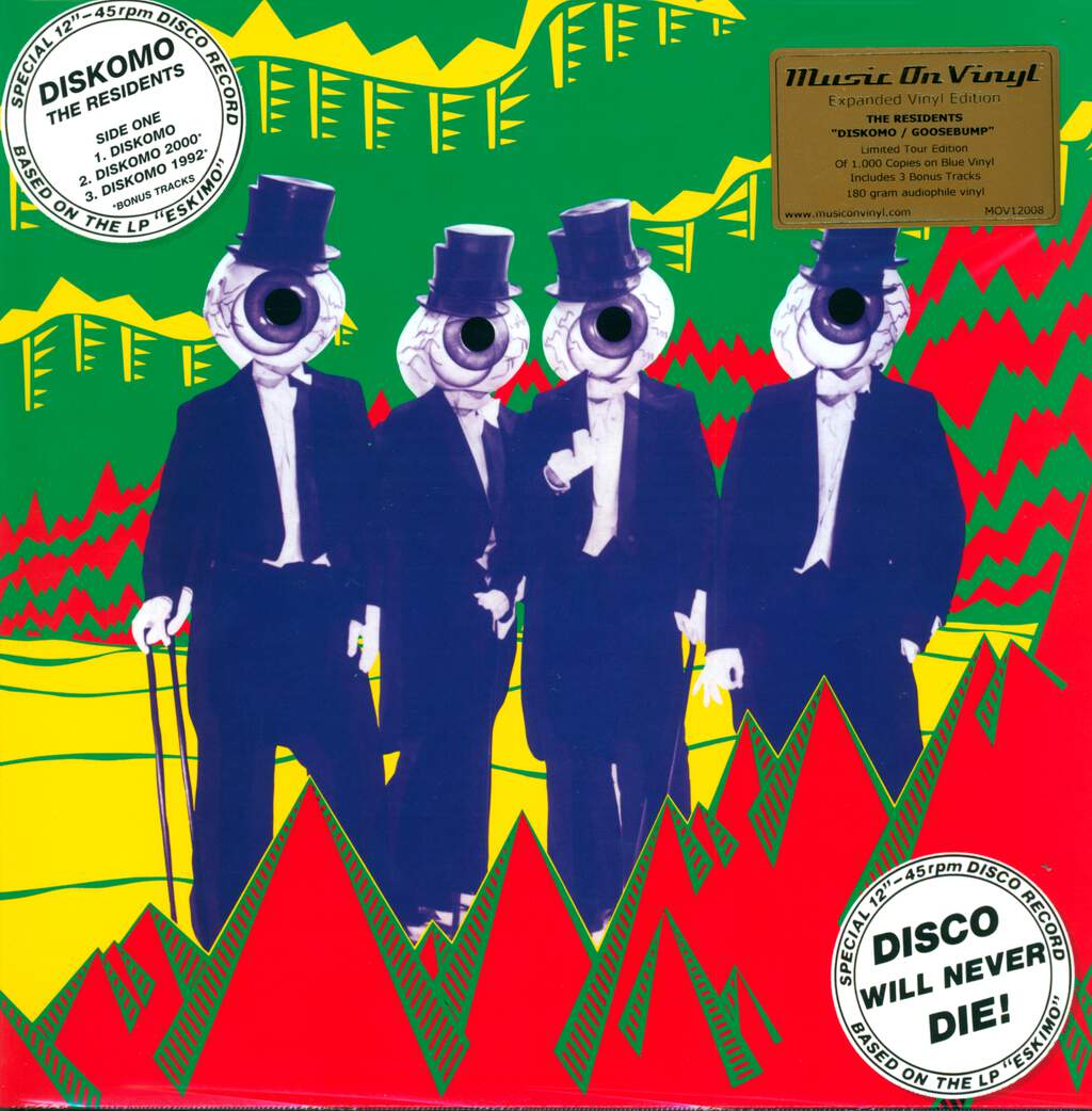 "The Residents: Diskomo / Goosebump, 12"" Maxi Single (Vinyl)"