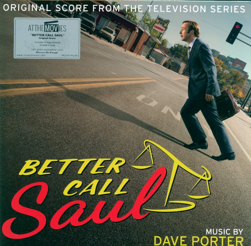 Dave Porter: Better Call Saul (Original Score From The Television Series 1 & 2), 2×LP (Vinyl)