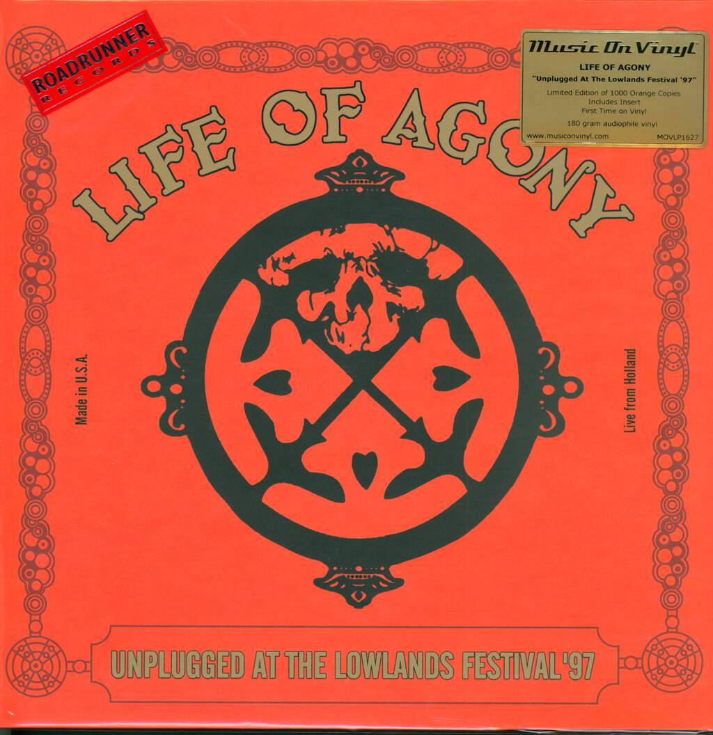 Life Of Agony: Unplugged At The Lowlands Festival '97, 2×LP (Vinyl)