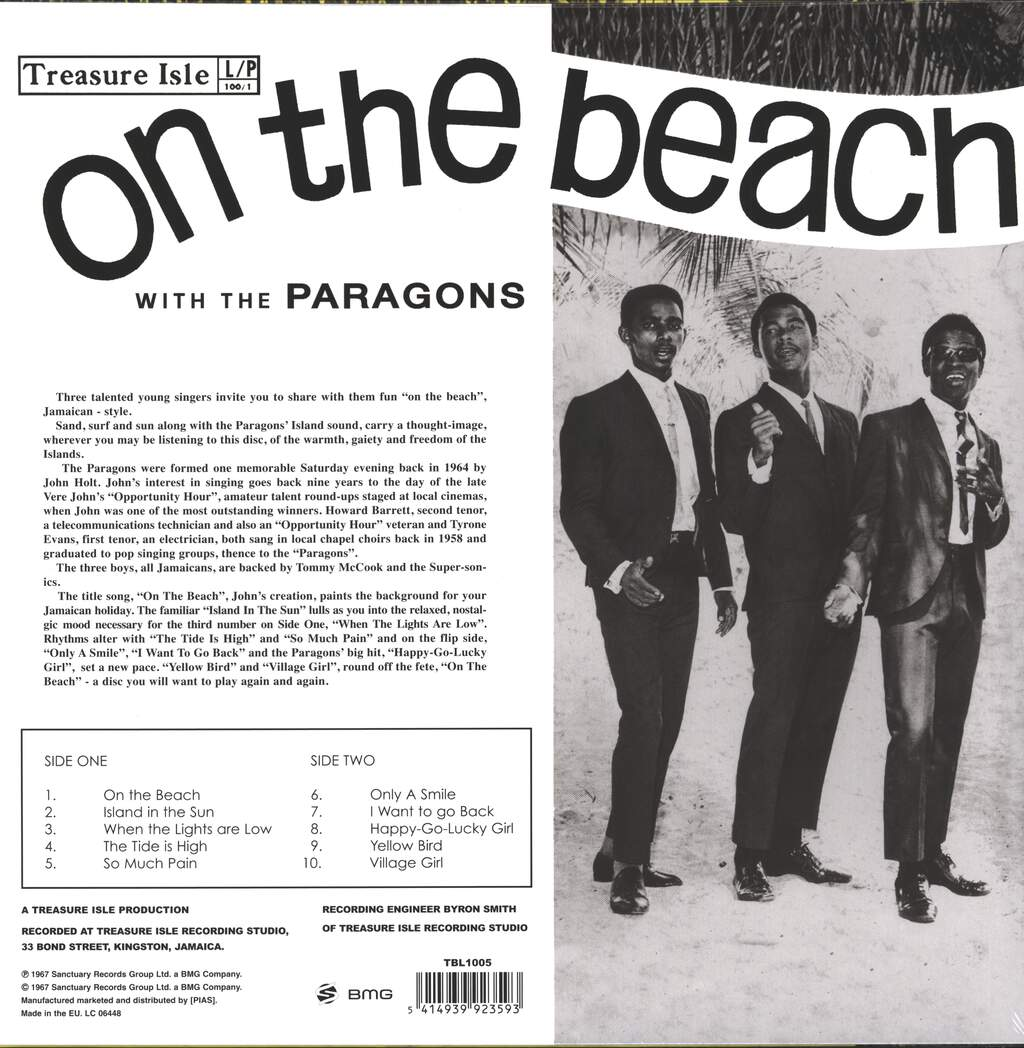 The Paragons: On The Beach (With The Paragons), LP (Vinyl)