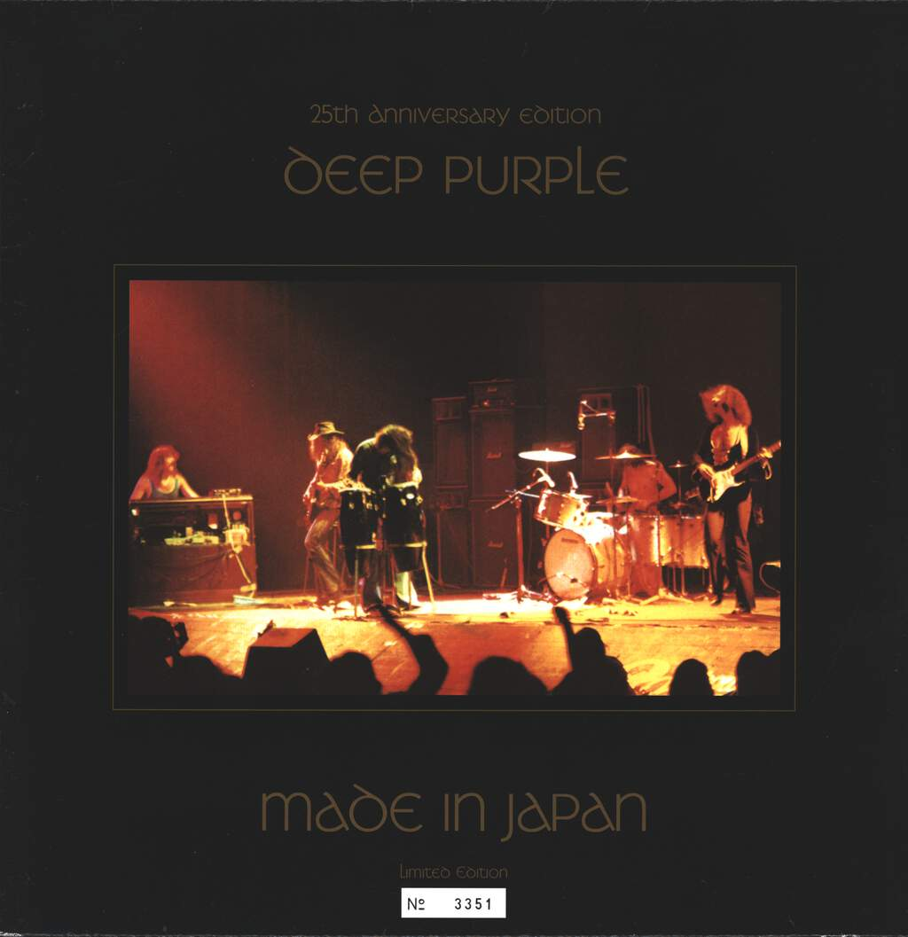 Deep Purple: Made In Japan, 2×LP (Vinyl)