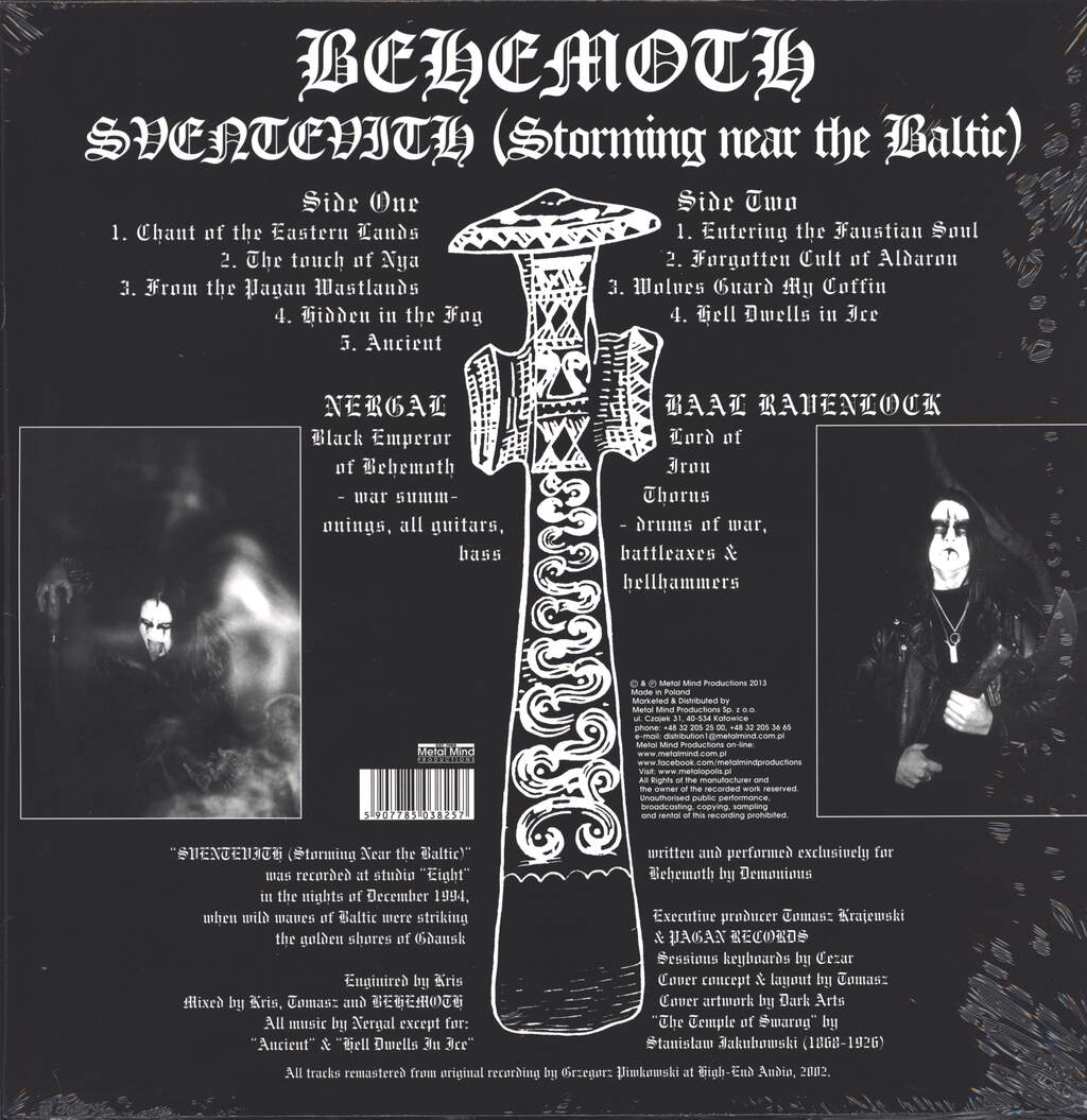 Behemoth: Sventevith (Storming Near The Baltic), LP (Vinyl)