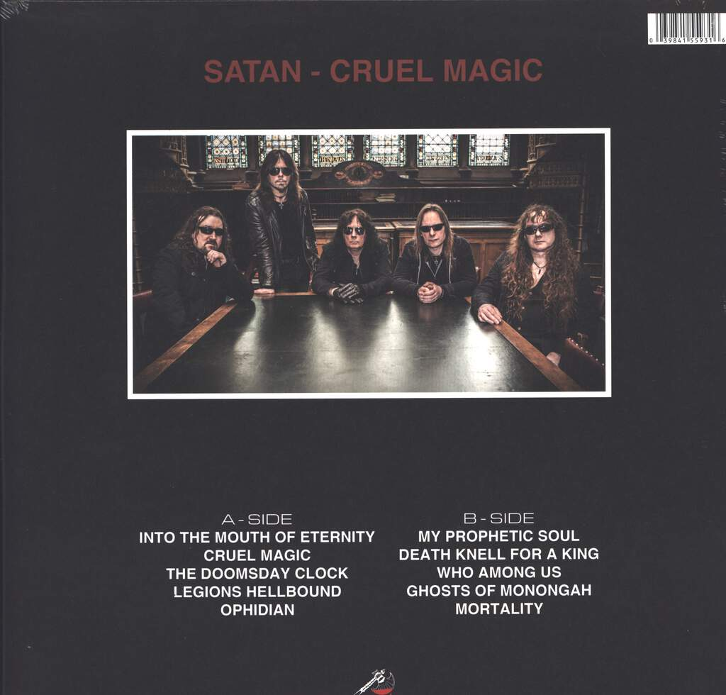 Satan: Cruel Magic, LP (Vinyl)