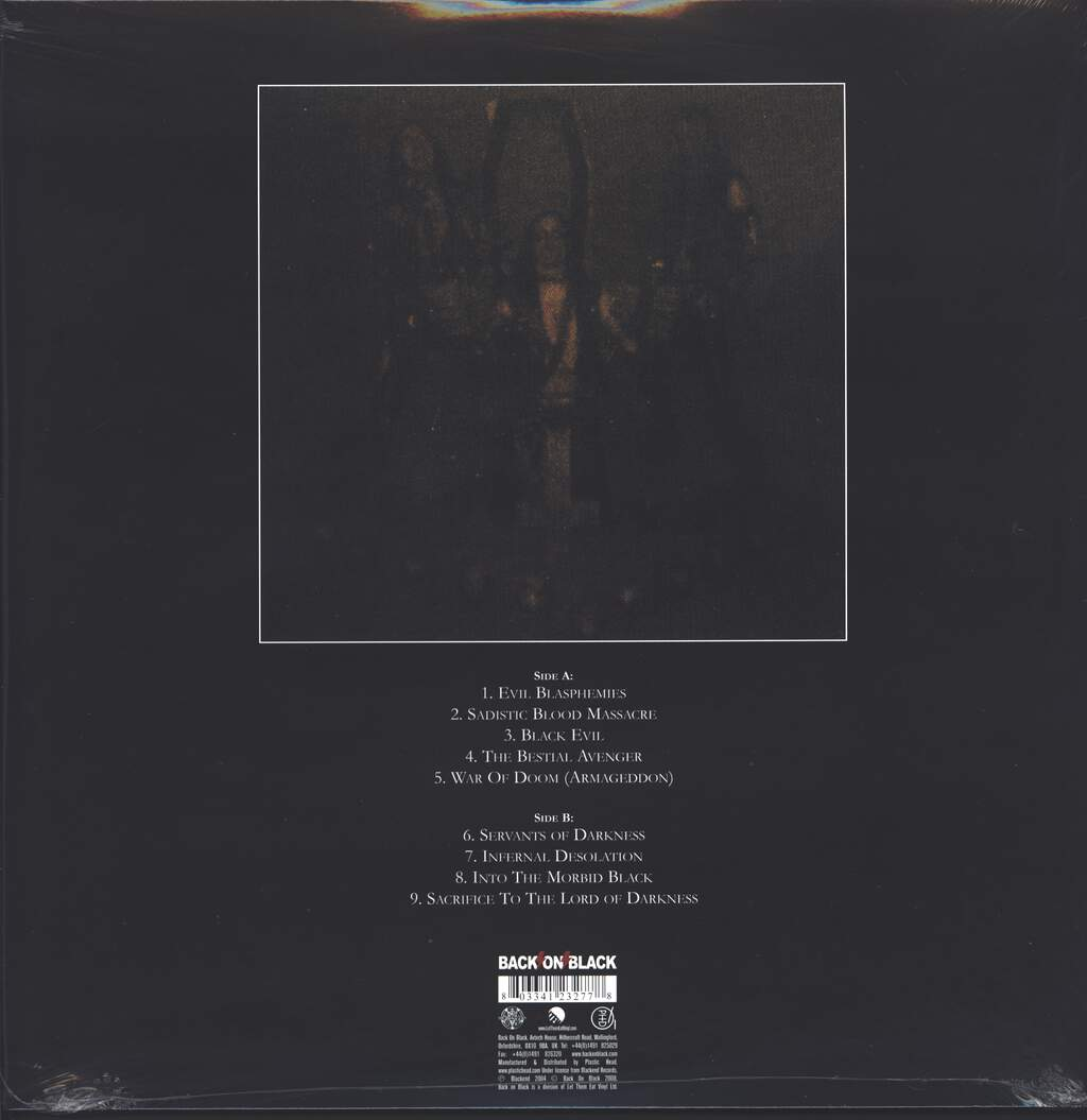 Nifelheim: Servants Of Darkness, LP (Vinyl)