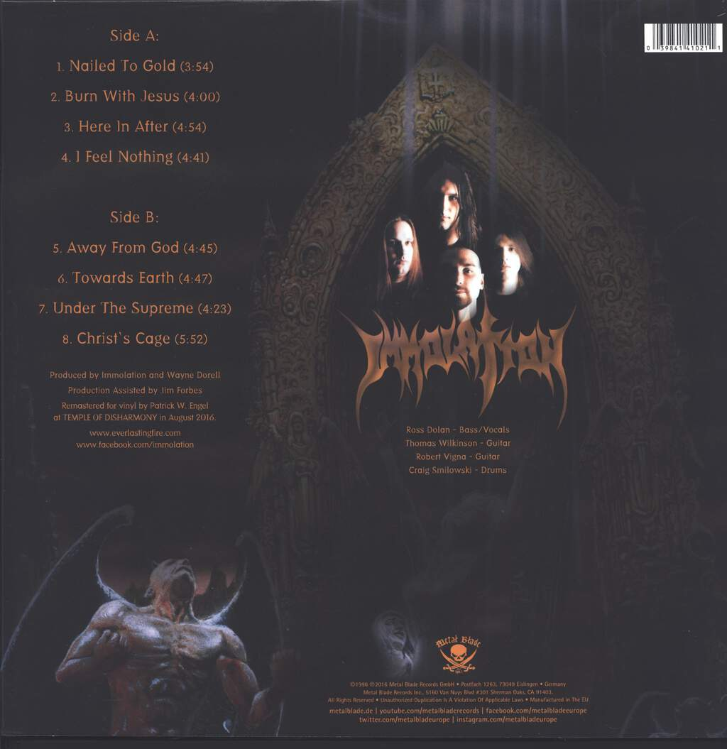 Immolation: Here In After, LP (Vinyl)