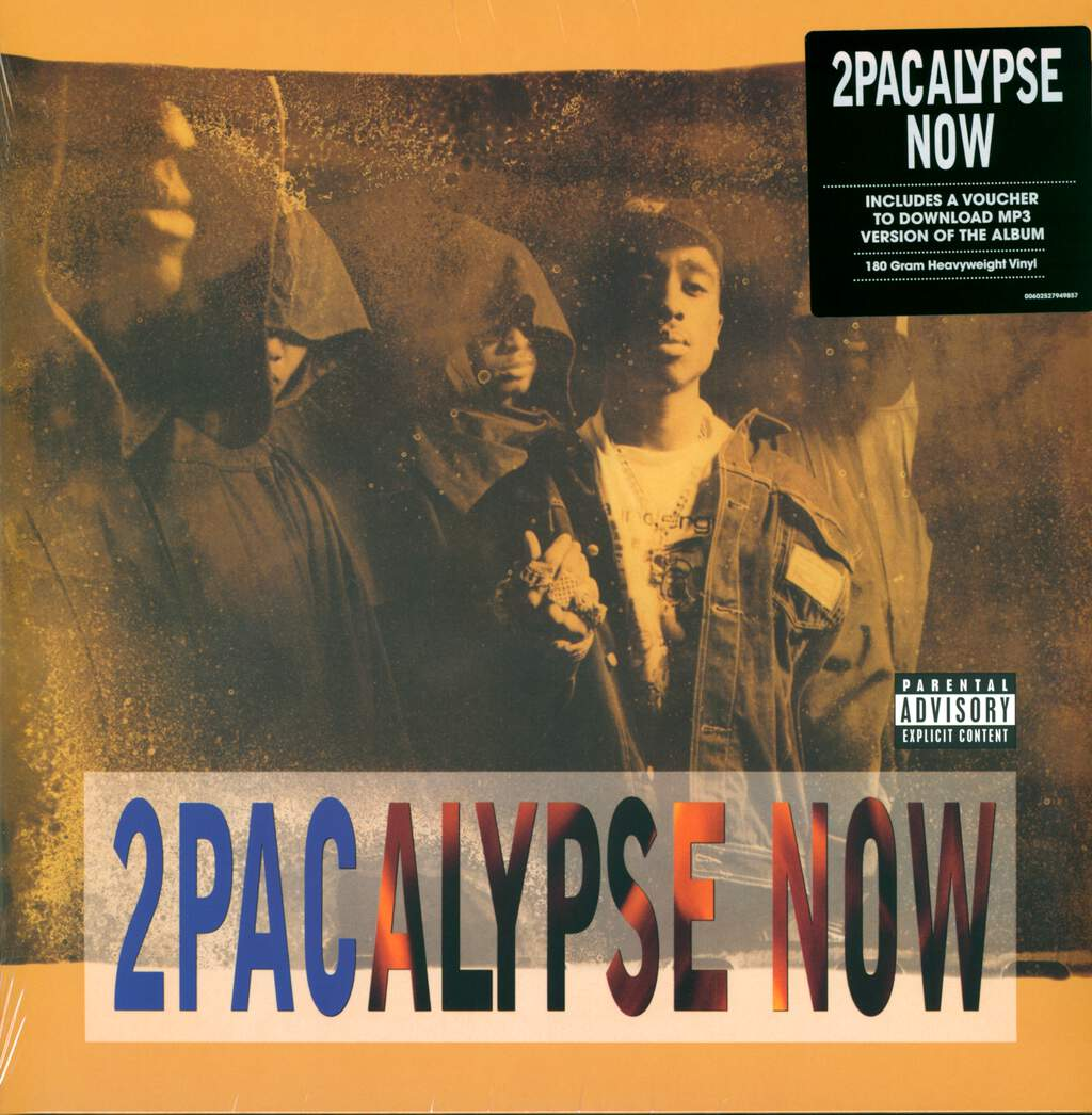 2pac: 2Pacalypse Now, 2×LP (Vinyl)