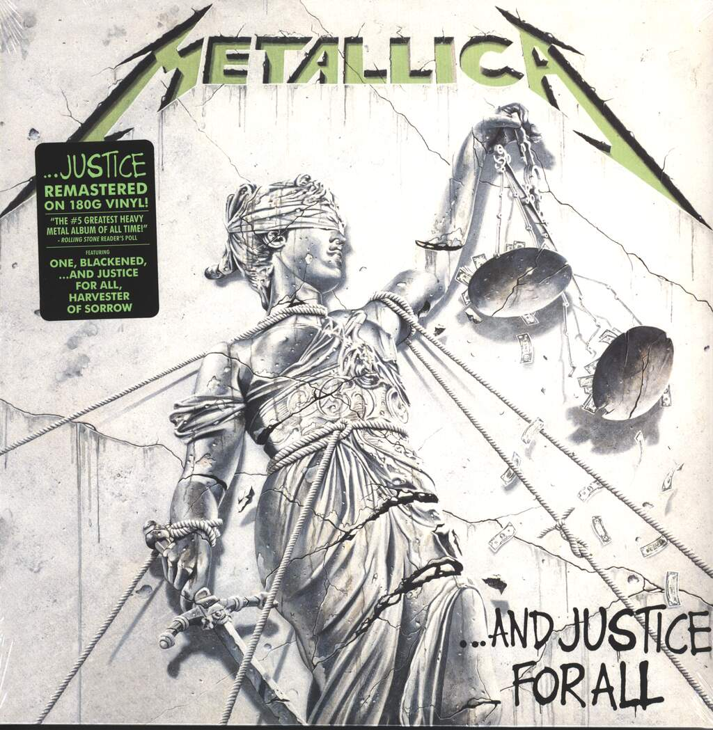 Metallica: ...And Justice For All, 2×LP (Vinyl)