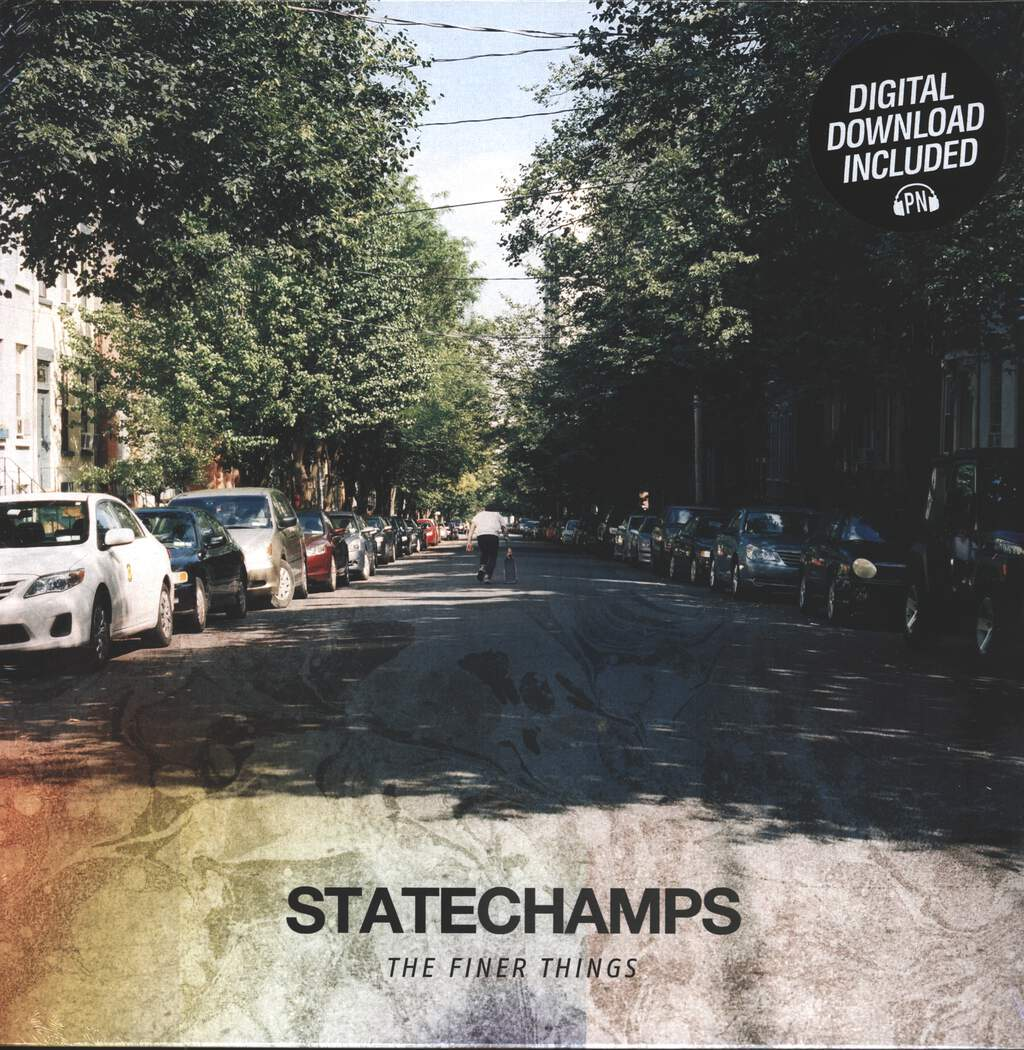 State Champs: The Finer Things, LP (Vinyl)