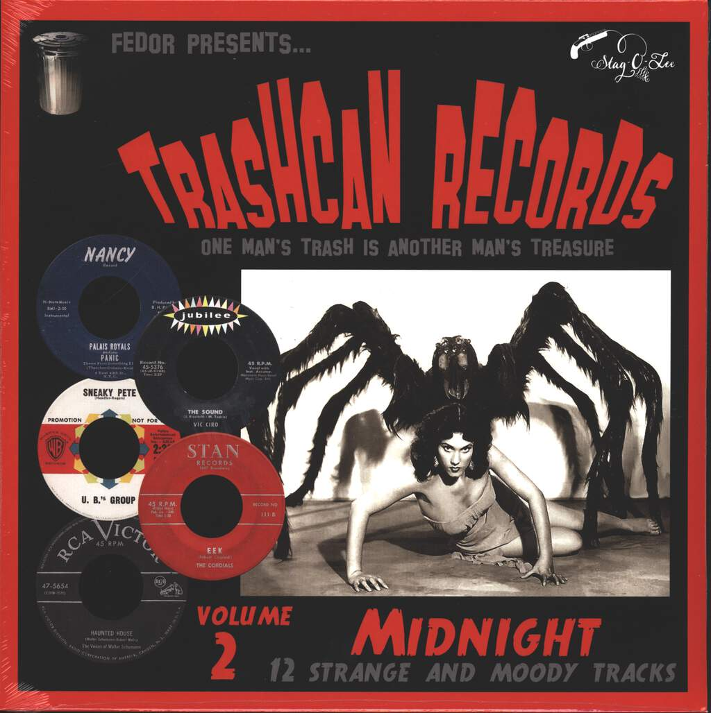 "Various: Trashcan Records Volume 2 - Midnight, 10"" Vinyl EP"