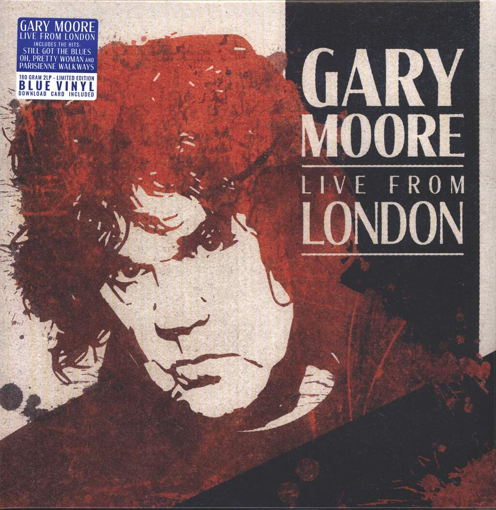 Gary Moore: Live From London, 2×LP (Vinyl)