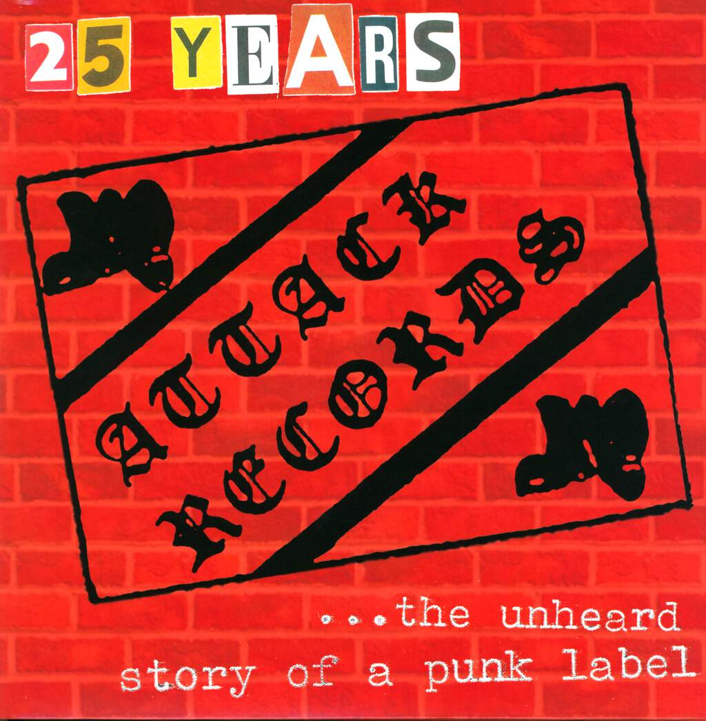Various: 25 Years Attack Records, LP (Vinyl)