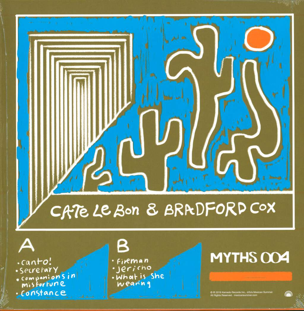 "Cate Le Bon: Myths 004, 12"" Maxi Single (Vinyl)"