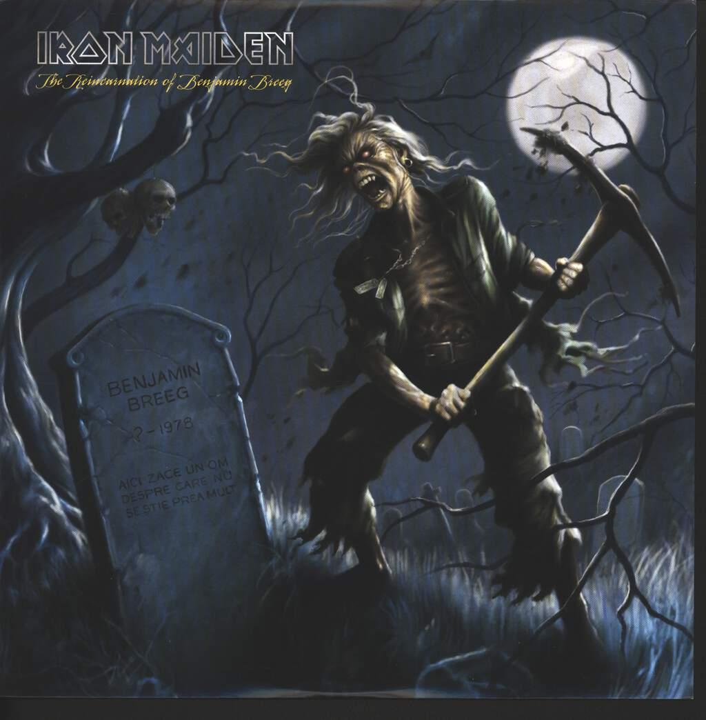 "Iron Maiden: The Reincarnation Of Benjamin Breeg, 10"" Vinyl EP"