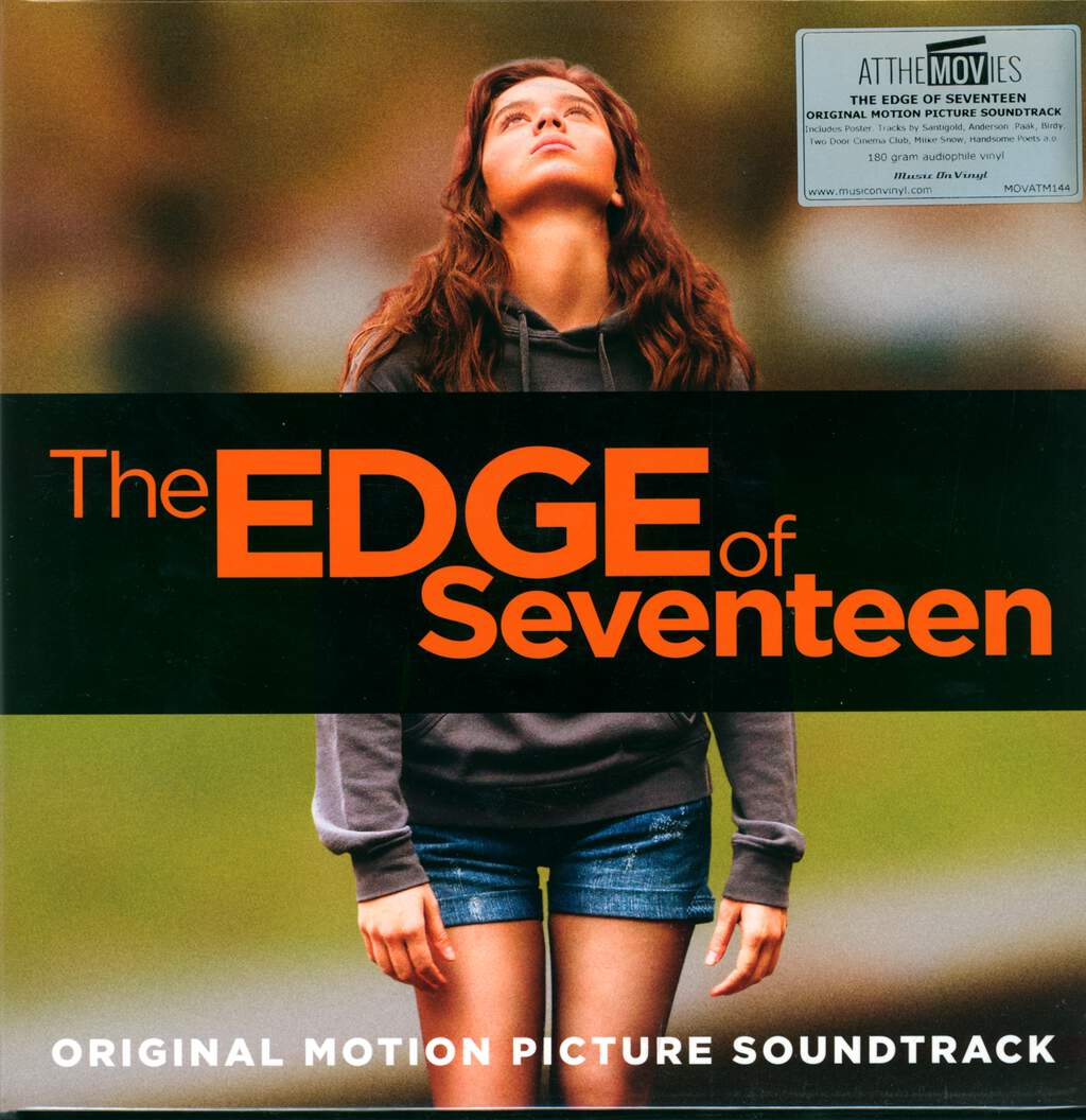 Various: The Edge Of Seventeen [Original Motion Picture Soundtrack], 2×LP (Vinyl)