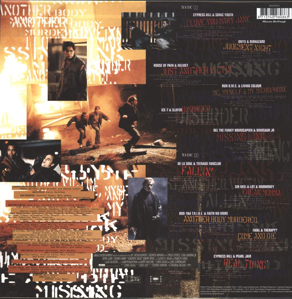 Various: Judgment Night (Music From The Motion Picture), LP (Vinyl)