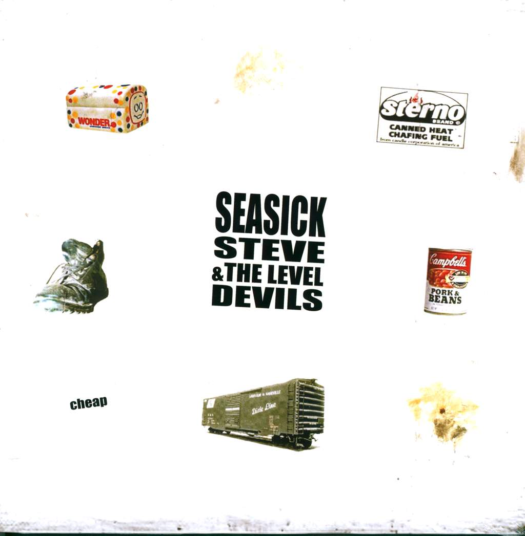 Seasick Steve & The Level Devils: Cheap, LP (Vinyl)