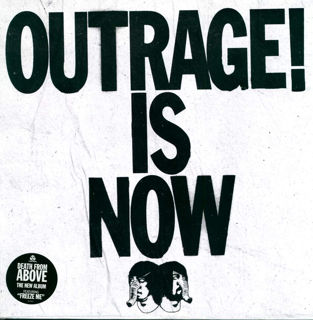 Death From Above 1979: Outrage! Is Now, LP (Vinyl)