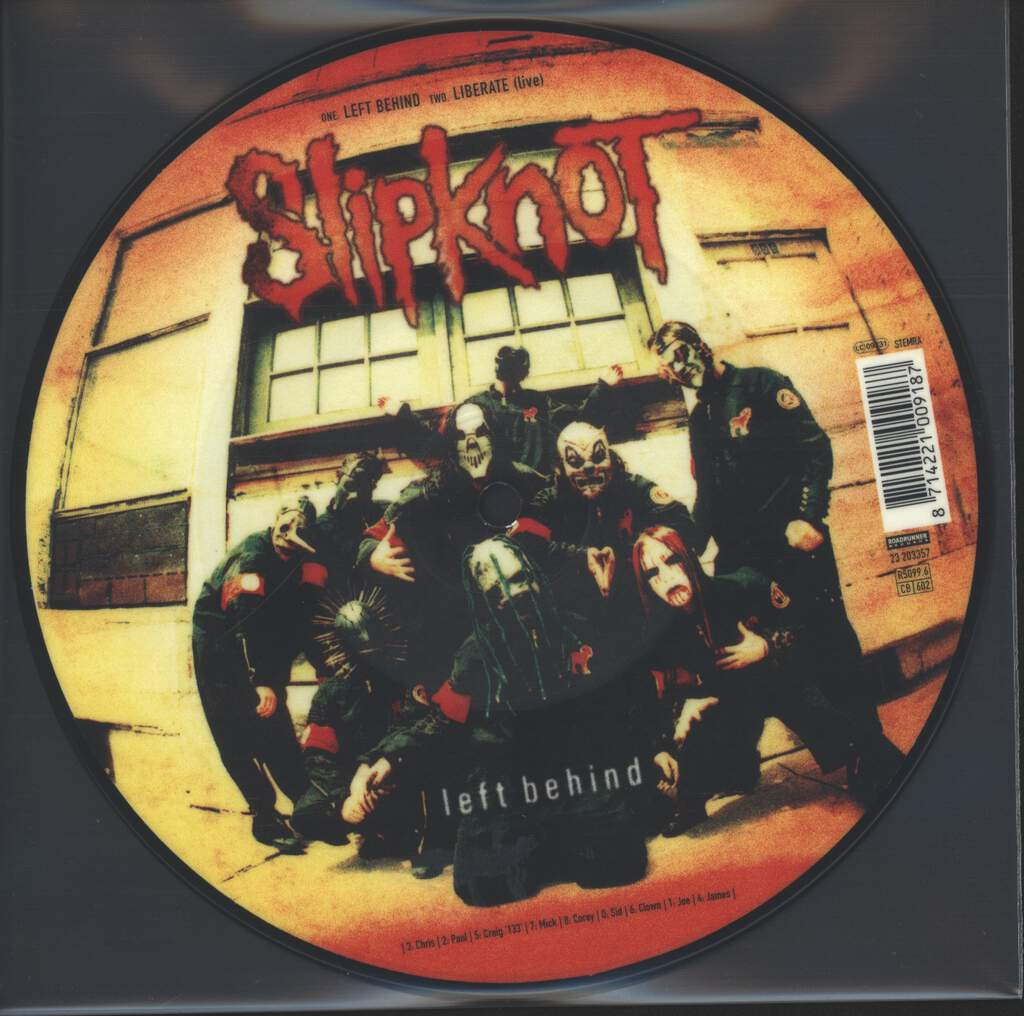 "Slipknot: Left Behind, 7"" Single (Vinyl)"