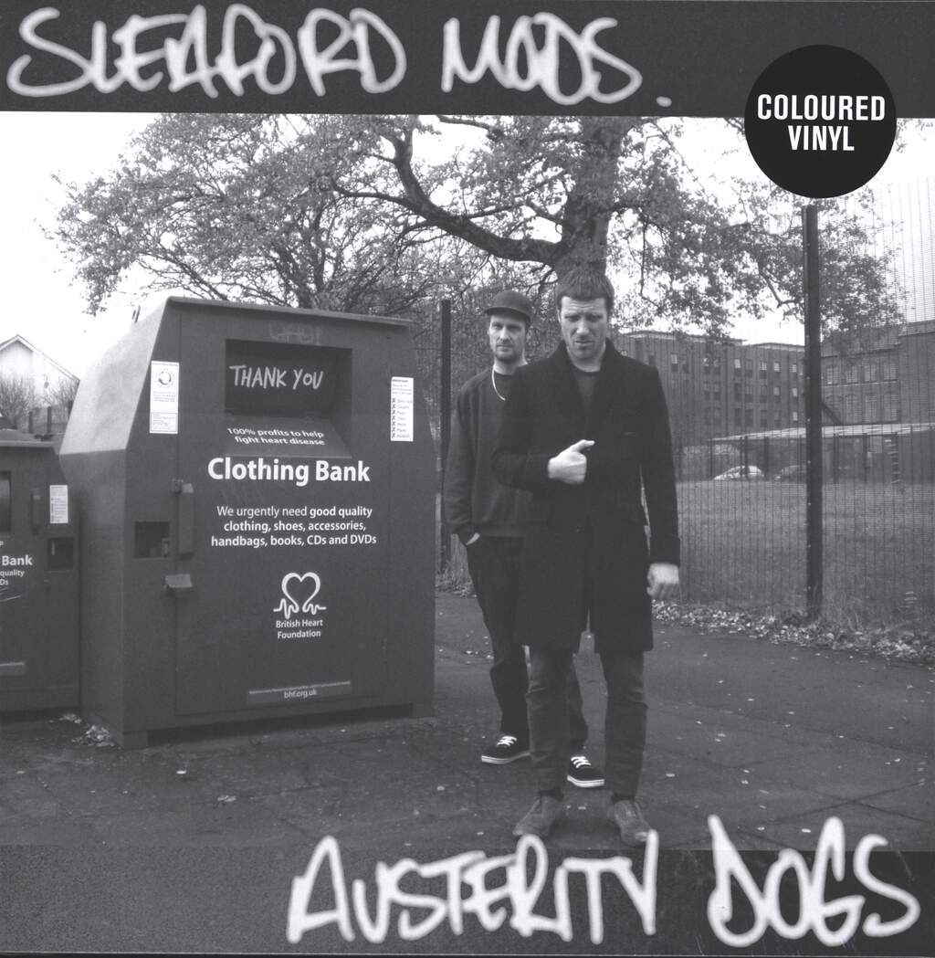 Sleaford Mods: Austerity Dogs, LP (Vinyl)