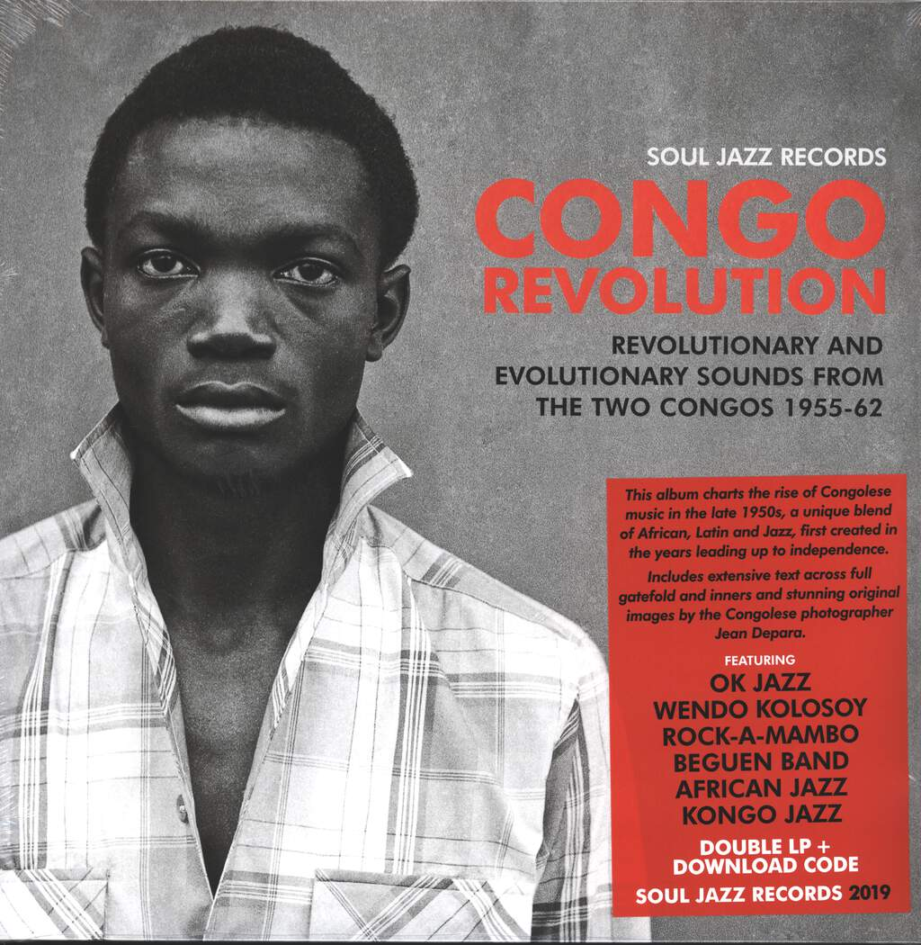 Various: Congo Revolution (Revolutionary And Evolutionary Sounds From The Two Congos 1955-62), 2×LP (Vinyl)