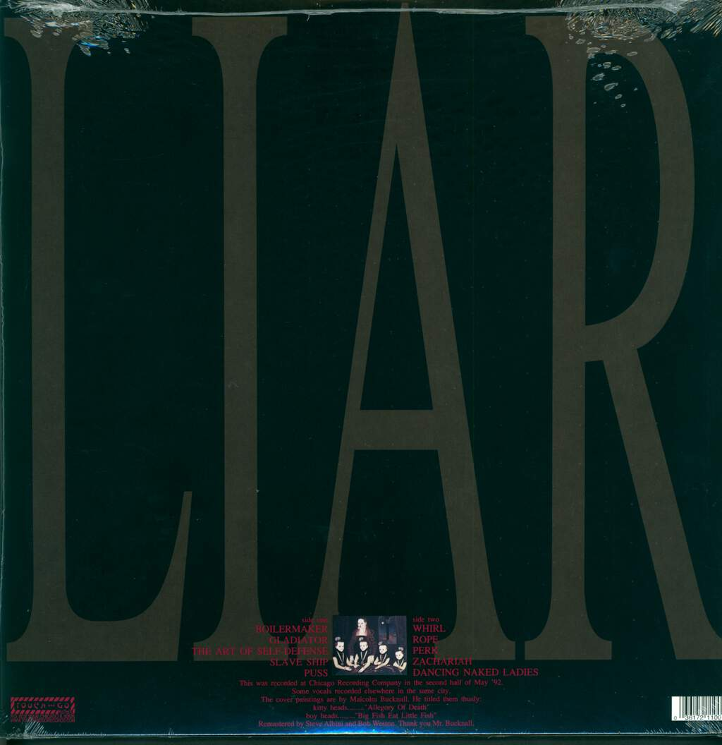 The Jesus Lizard: Liar, LP (Vinyl)