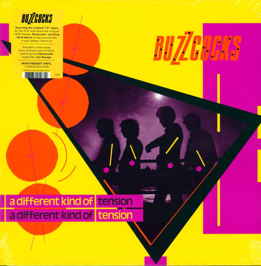 Buzzcocks: A Different Kind Of Tension, LP (Vinyl)