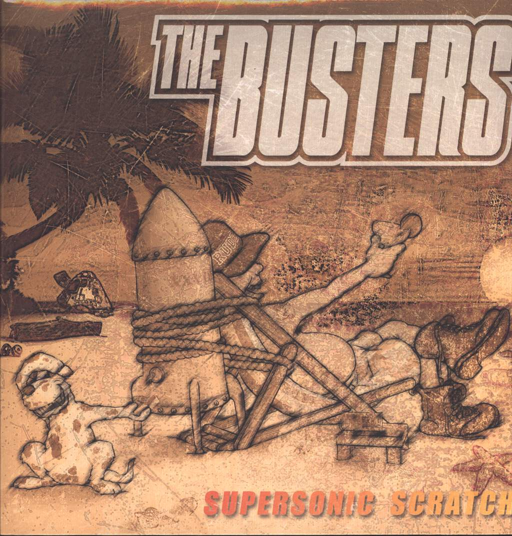 The Busters: Supersonic Scratch, LP (Vinyl)