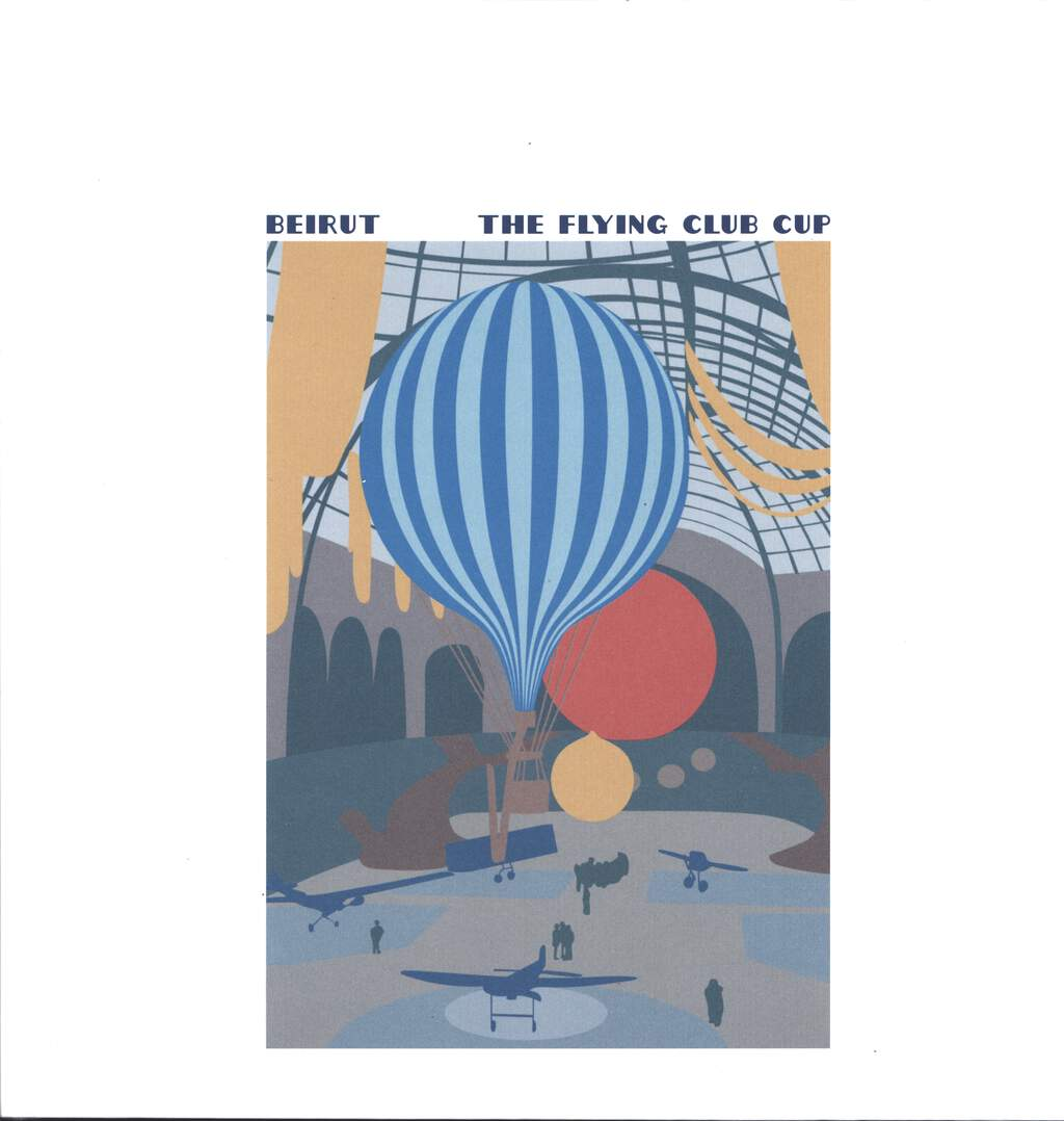 Beirut: The Flying Club Cup, LP (Vinyl)