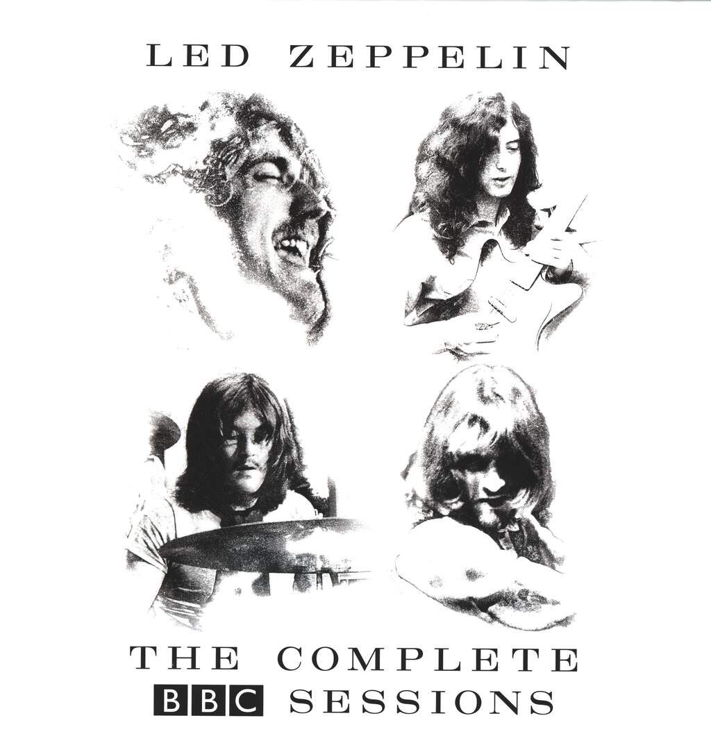 Led Zeppelin: The Complete BBC Sessions, 5×LP (Vinyl)
