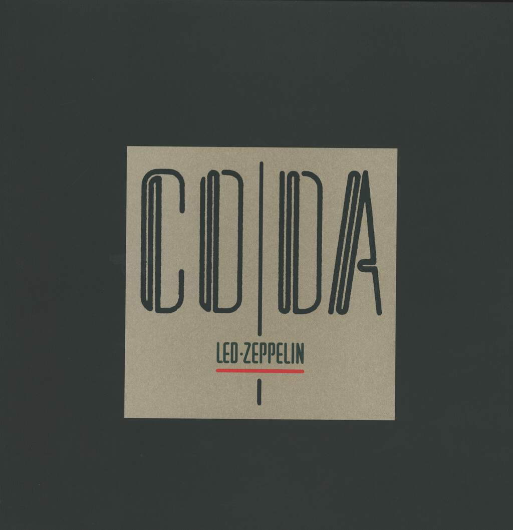 Led Zeppelin: Coda, 3×LP (Vinyl)