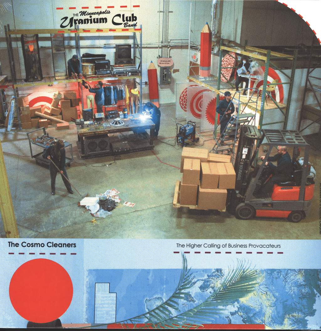 The Minneapolis Uranium Club: The Cosmo Cleaners: The Higher Calling Of Business Provocateurs, LP (Vinyl)