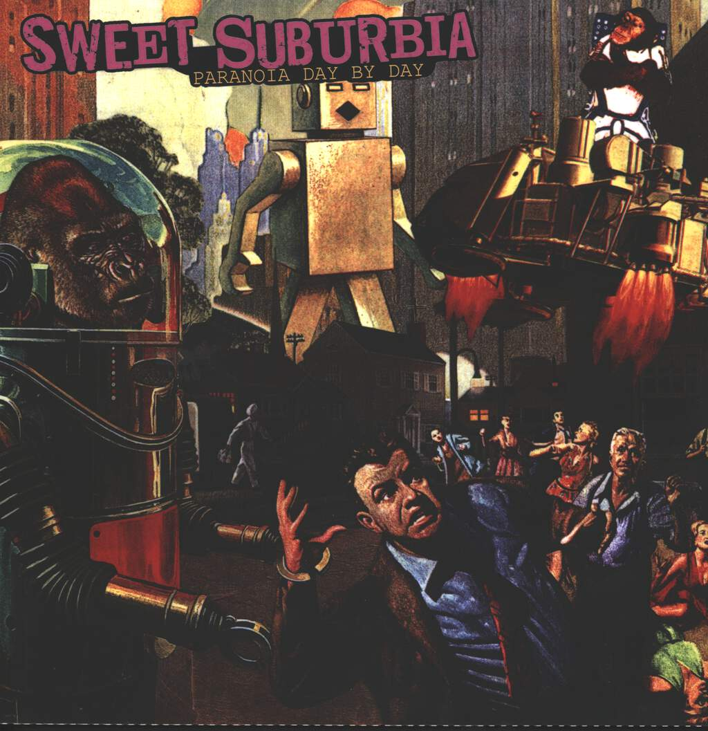 Sweet Suburbia: Paranoia Day By Day, LP (Vinyl)
