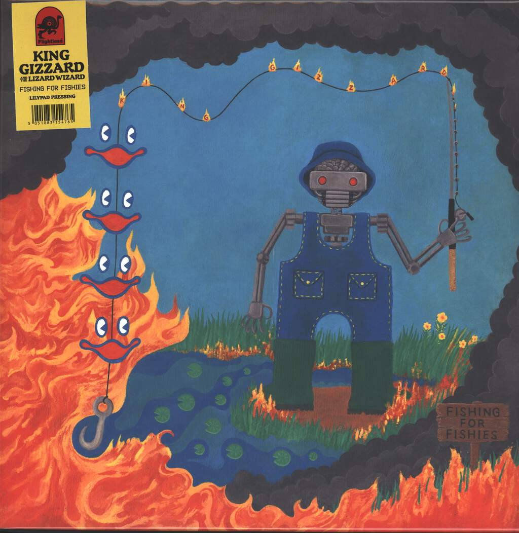 King Gizzard And The Lizard Wizard: Fishing For Fishies, LP (Vinyl)