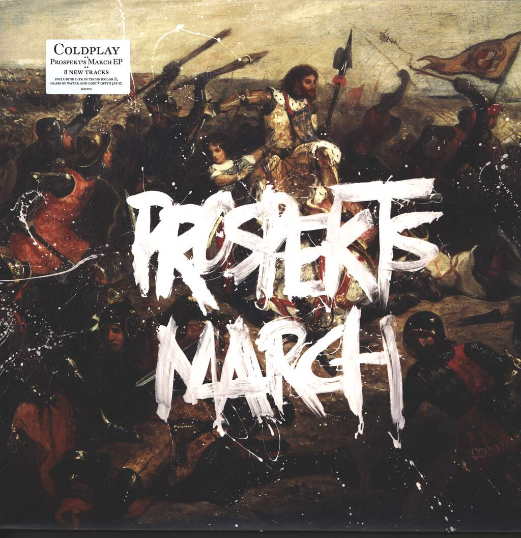 "Coldplay: Prospekt's March EP, 12"" Maxi Single (Vinyl)"
