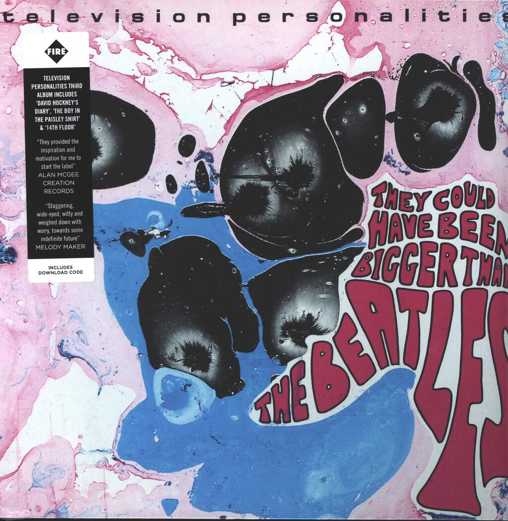Television Personalities: They Could Have Been Bigger Than The Beatles, LP (Vinyl)