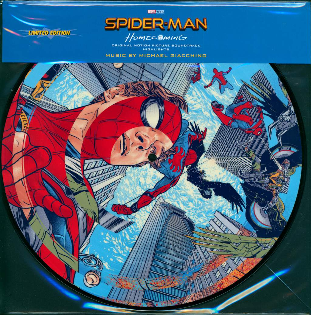 Michael Giacchino: Spider-Man: Homecoming, LP (Vinyl)