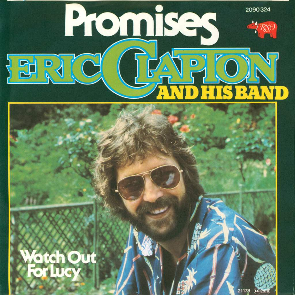 "Eric Clapton And His Band: Promises, 7"" Single (Vinyl)"
