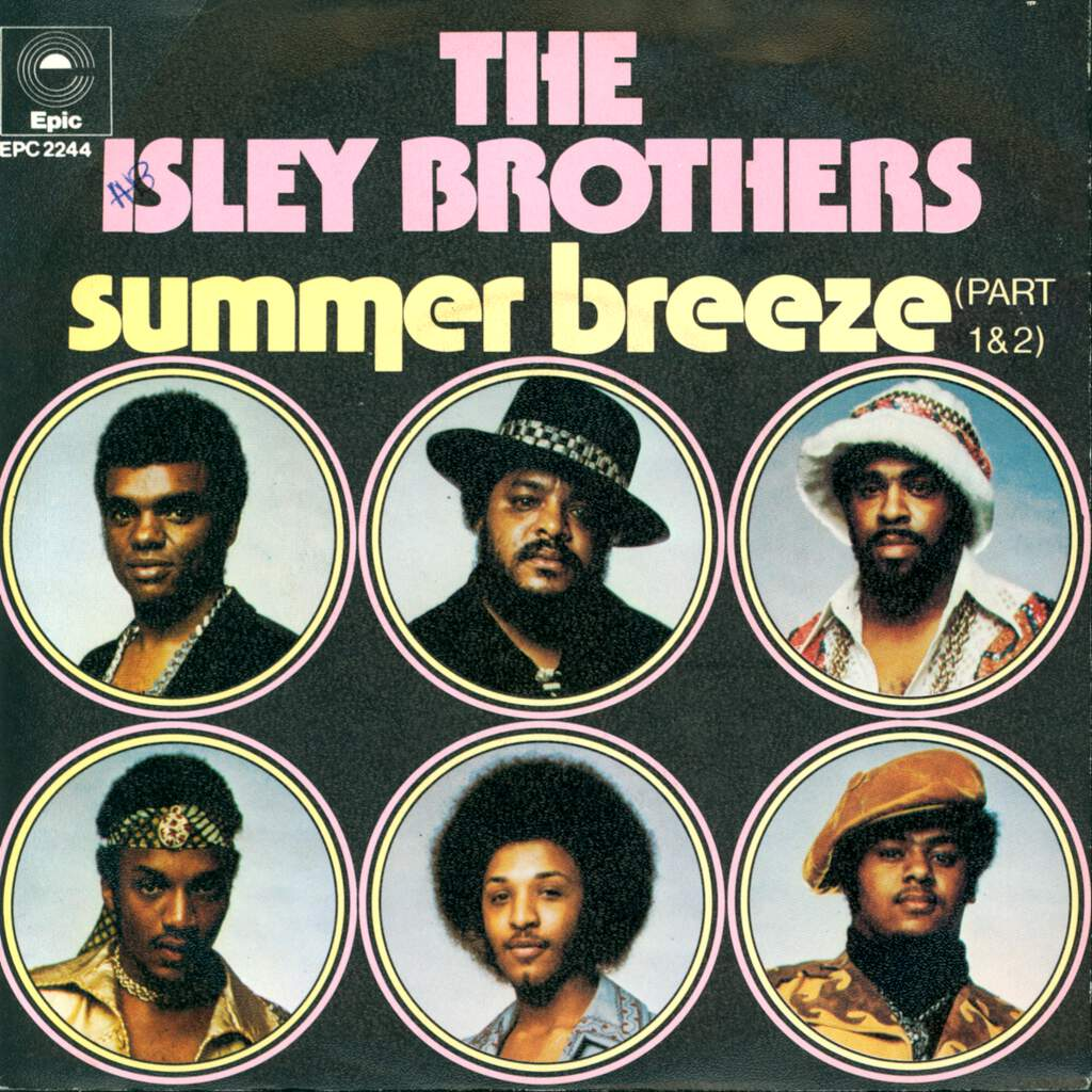 "The Isley Brothers: Summer Breeze (Part 1 & 2), 7"" Single (Vinyl)"