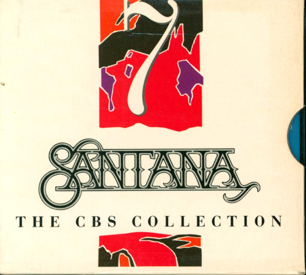 Santana: The Cbs Collection, 7×CD