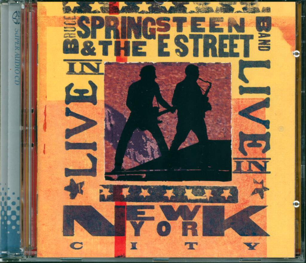 Bruce Springsteen & The E-Street Band: Live In New York City, 2×CD