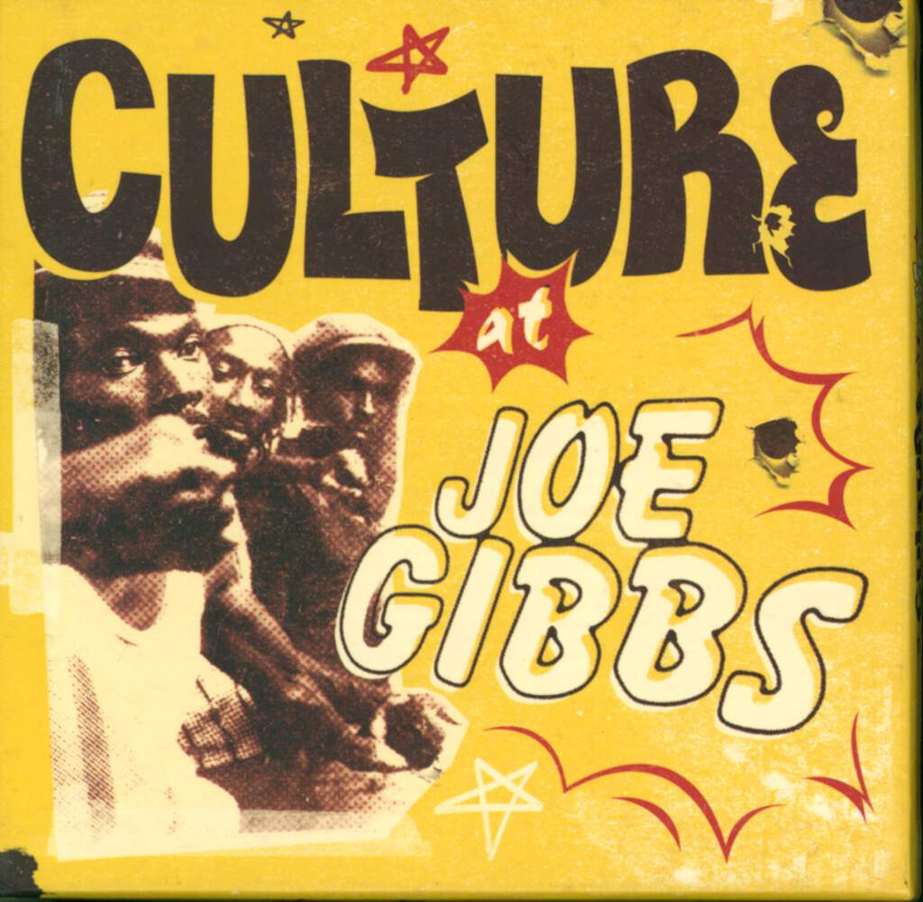 Culture: At Joe Gibbs, 4×CD