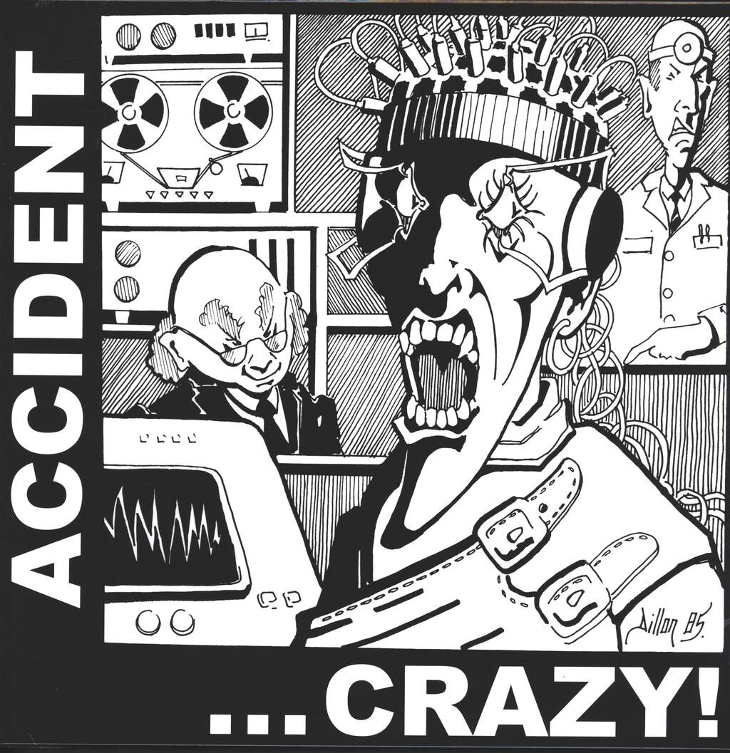 Major Accident: Crazy, LP (Vinyl)