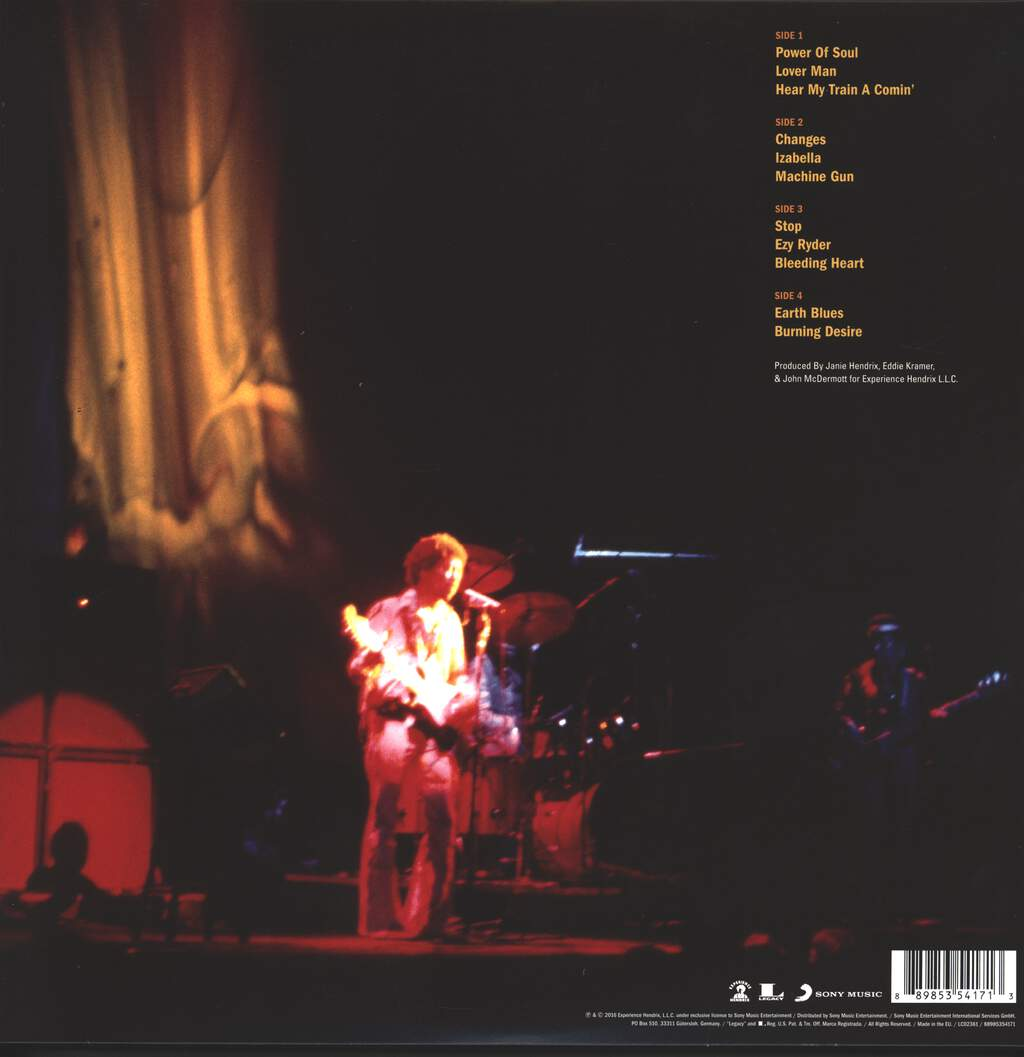 Jimi Hendrix: Machine Gun: The Fillmore East First Show 12/31/1969, 2×LP (Vinyl)