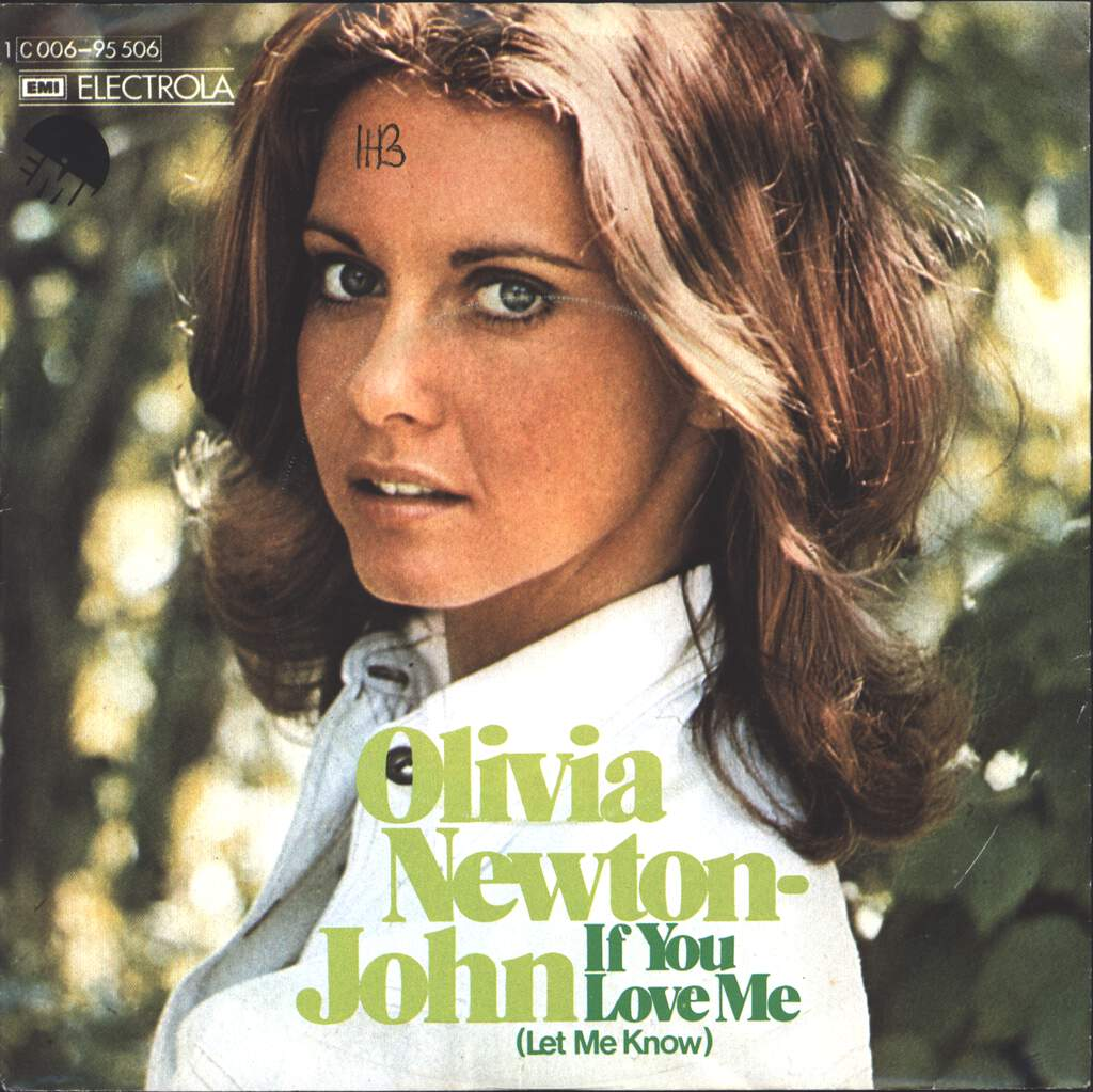 "Olivia Newton-John: If You Love Me (Let Me Know), 7"" Single (Vinyl)"