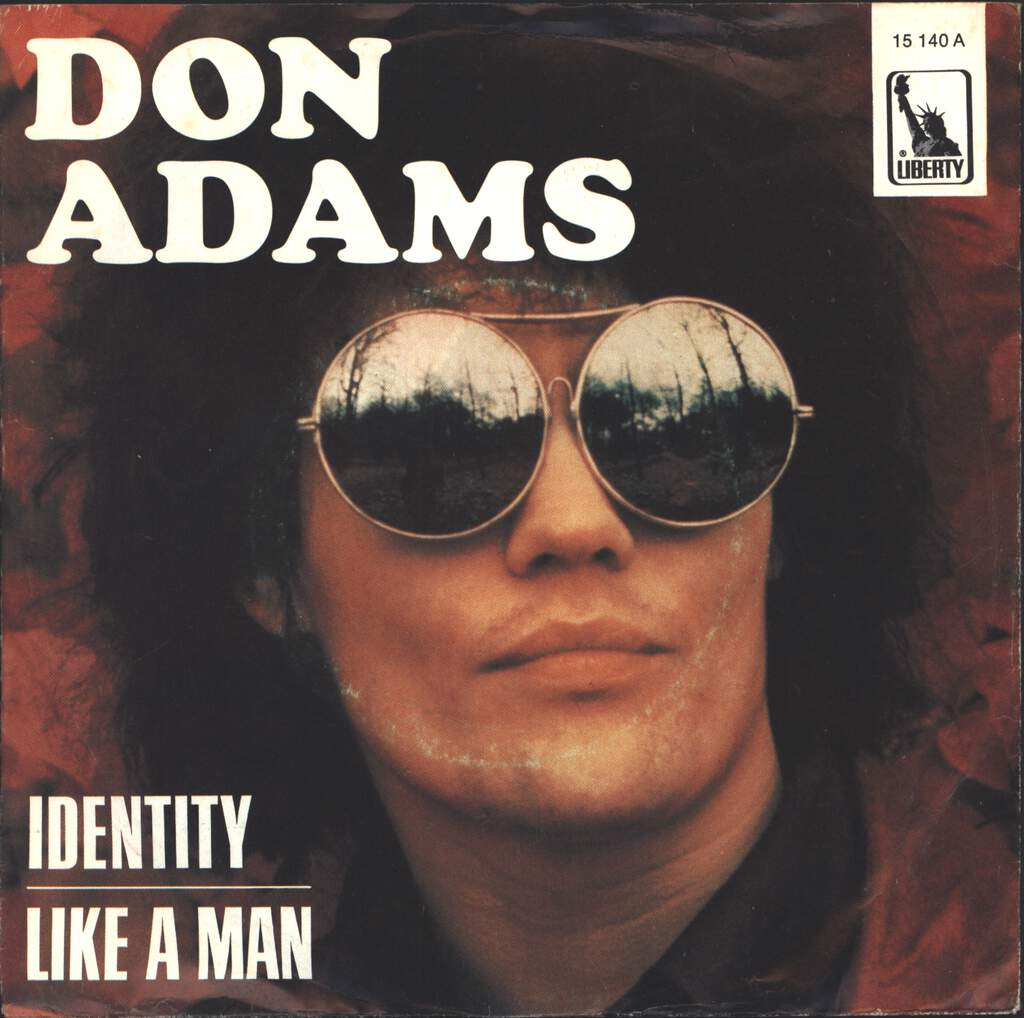 "Don Adams: Identity, 7"" Single (Vinyl)"
